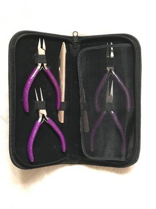 Estuche alicates set herramientas joyería brillo