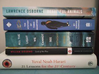 English books. Novelas en inglés.