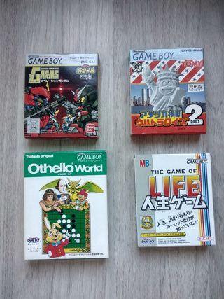 Juegos Game Boy Japoneses
