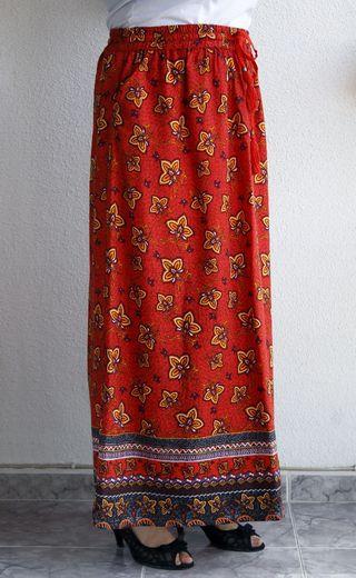 Falda larga talla grande NUEVA