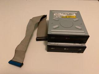 Disqueteras de dvd grabadora LG