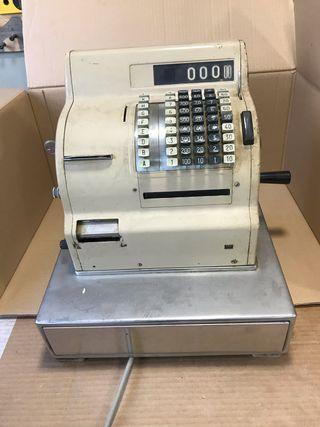 Caja registradora vintage Hugin