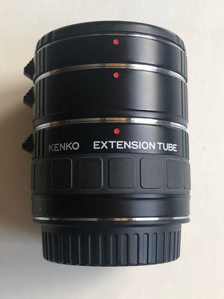 Anillos de extensión macro Kenko Canon