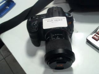 Camara de fotos reflex digital Sony A200