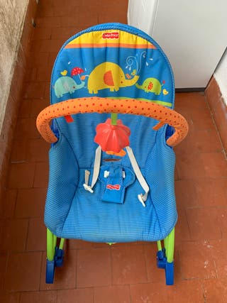 Hamaca Fisher Price azul