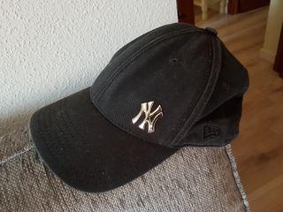 Gorra béisbol New York original. Negra.