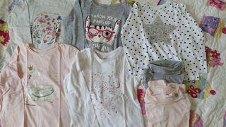 Lote 7 camisetas T.3-4