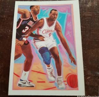 Trading card DANNY MANNING #366 (L. A. Clippers)