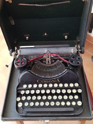 Máquina de escribir corona