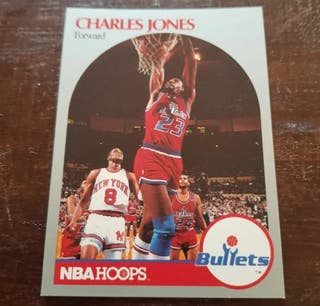 Trading card CHARLES JONES (Washington) #299