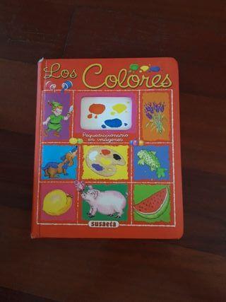 Libro infantil bebés Los Colores pequediccionario