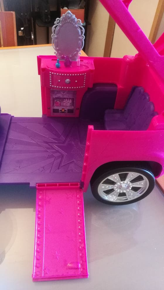 coche 4x4 Barbie extensible / convertible