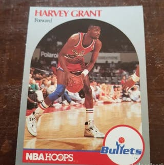Trading card HARVEY GRANT Washington Bullets) #297