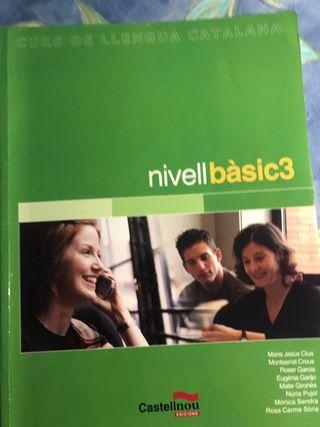 Curs de llengua catalana nivell bàsic 3 castellnou