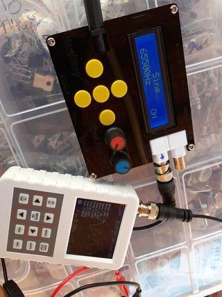 generador de funciones frecuencia ondas de calidad