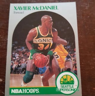 Trading card XAVIER McDANIEL (Seattle) #280