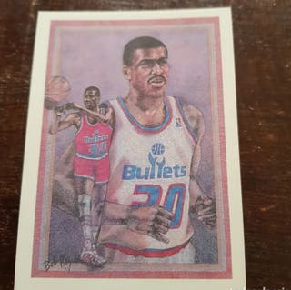 Trading Card BERNARD KING (Washington) #381