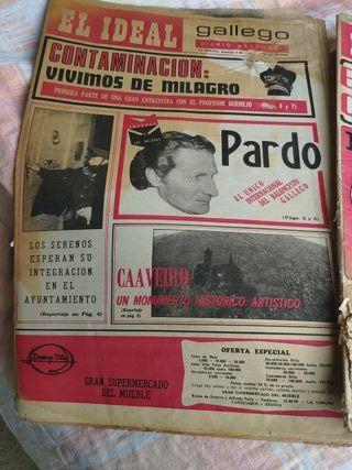 periódicos antiguos IDEAL GALLEGO
