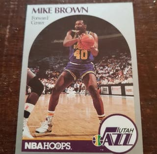 Trading card MIKE BROWN (Utah Jazz) #286