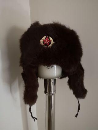 Auténtico gorro soviético del ejército ruso