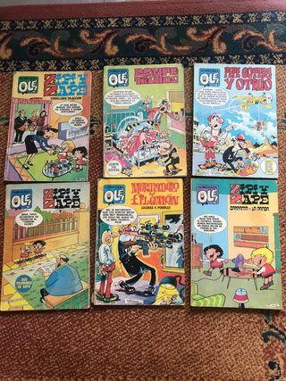 Colección Olé 6 cómics