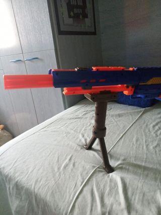 regalo trípode con la compra de rifles nerf