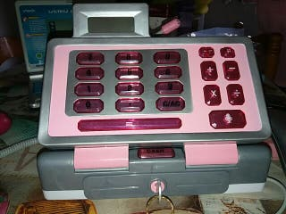 caja registradora toys rus