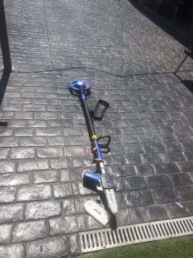Motosierra electrica telescopica 3 metros