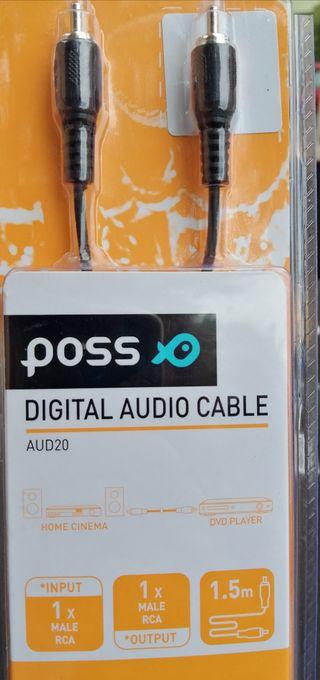 Digital audio cable marca poss
