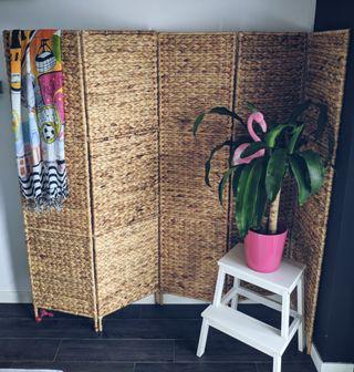 Biombo divisor 5 paneles