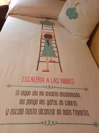 Funda Nórdica de cama y de cojín con diseño