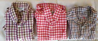 Lote 3 camisas 18-24m Neck&Neck