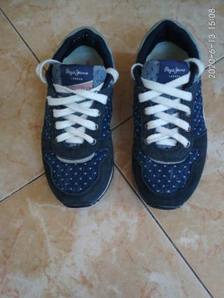 Zapato deportivo niña talla 32 Pepe Jeans