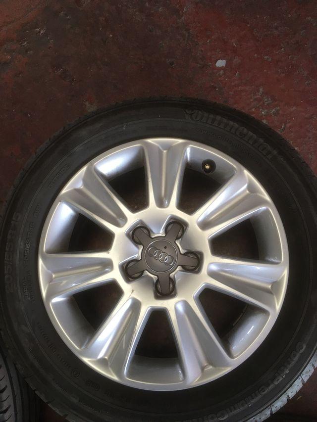 Llantas Audi 15 pulgadas