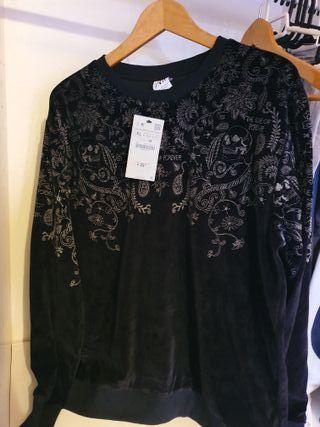 Sudadera nueva Zara