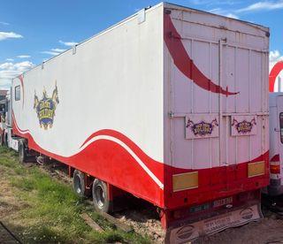 Plataforma trailer cuello cisne