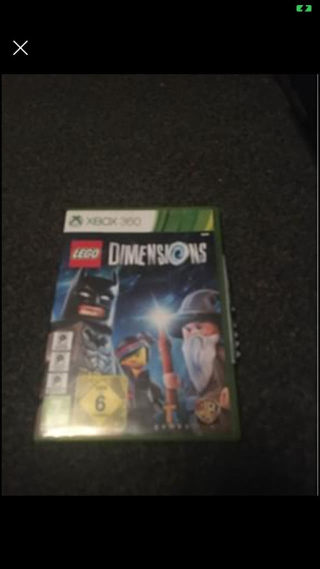 X box 360 Lego dimentions game