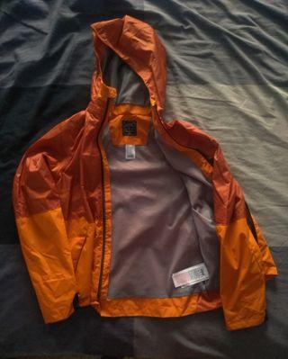 chaqueta chubasquero niño niña 8-12