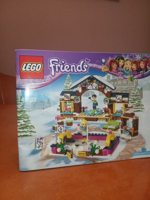 Lego pista de hielo