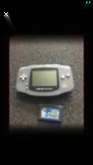 Game boy advance with 1 game
