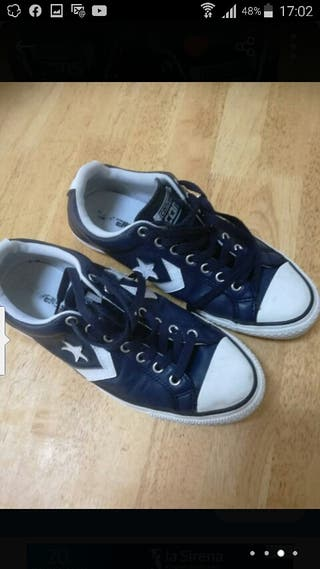 Zapatillas Converse CONS, piel, talla 41
