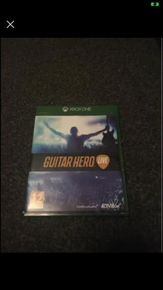 X box one guitar hero game