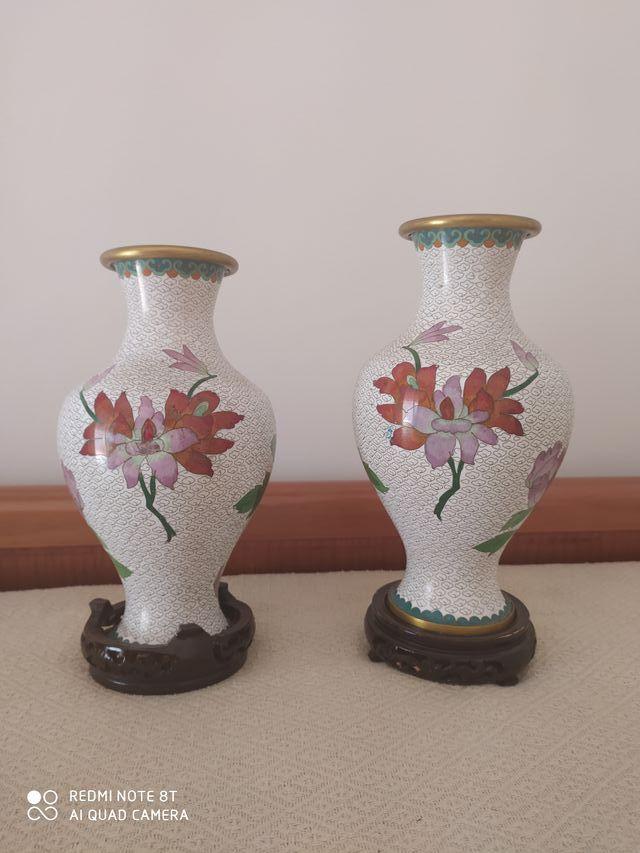 Jarrones chinos decoración