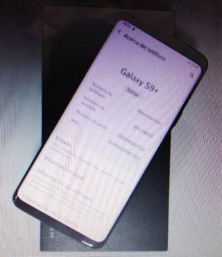 Samsung galaxy S9 + 6gb ram 64gb