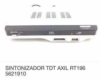 Sintonizador digital TDT grabador