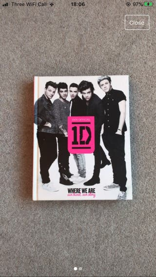 One direction book where we are