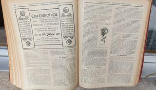 libro antiguo ¨la industria fabril y agro pecuaria