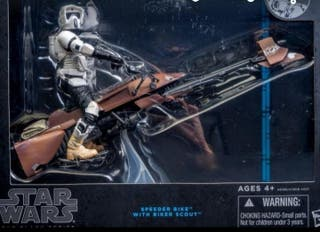Star War speeder bike black series