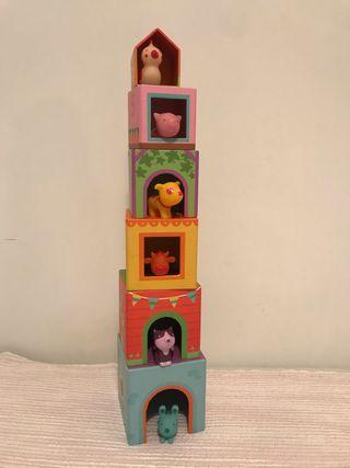 Juego juguete infantil djeco topanifarm