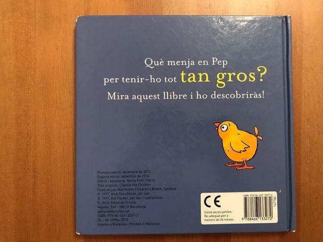 Libro cuento infantil Pep